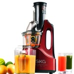 SKG New Generation Wide Chute Anti-Oxidative Slow Masticating Juicer Review