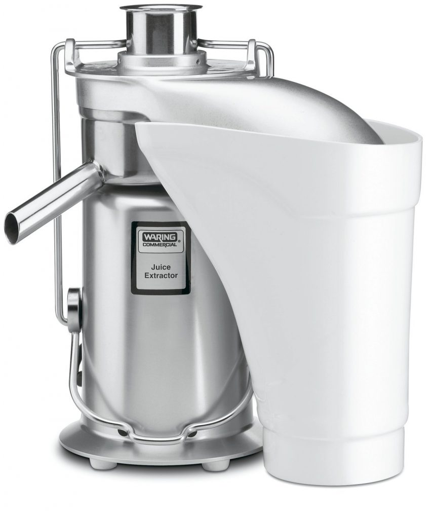 Waring Commercial JE2000 Heavy Duty Stainless Steel Juice Extractor with Pulp Ejection Review