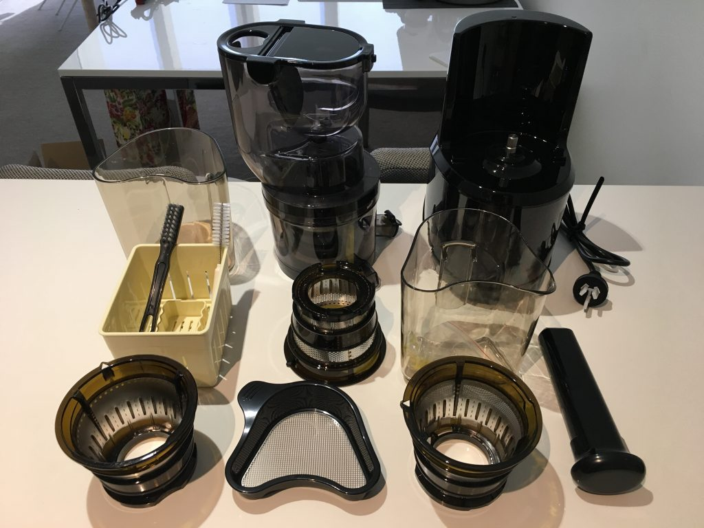 optimum 700 juicer set